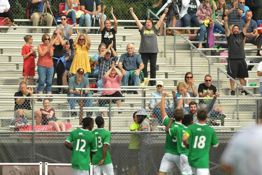 #DKCU give their fans something to cheer about (Photo from DeKalb Daily Chronicle)