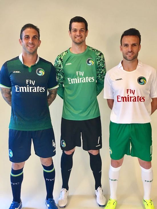 2017 kit announcement. Image courtesy of  Football Fashion .