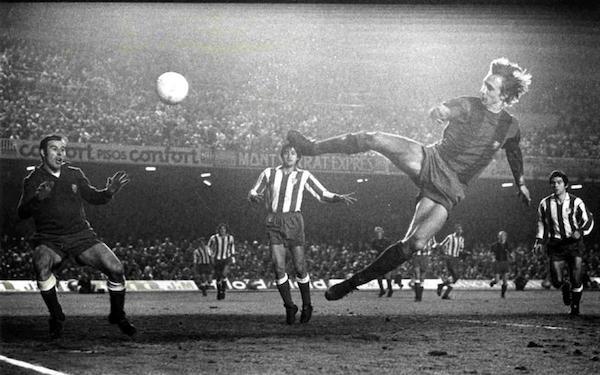 Johan Cruyff. Images courtesy of FC Barcelona.