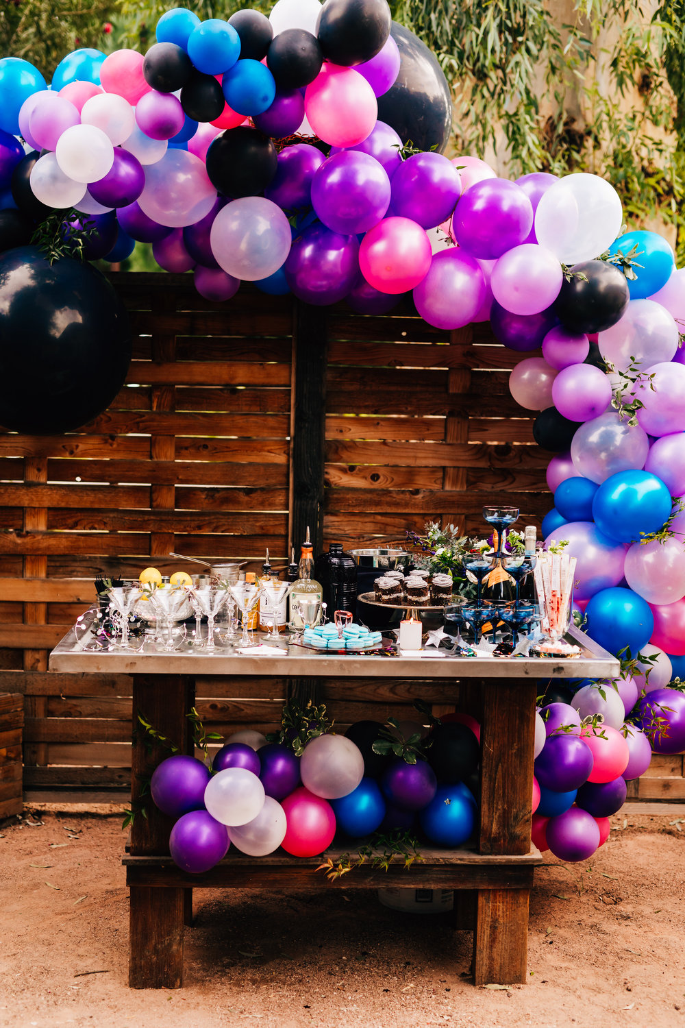 Ultra Violet New Year's Eve Party Inspiration