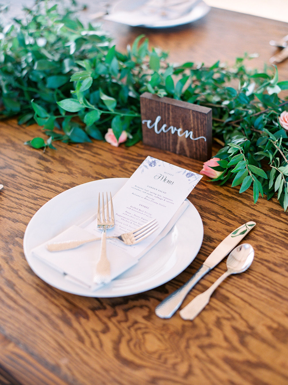 Dairy Farm Wedding - Tablescape Inspiration