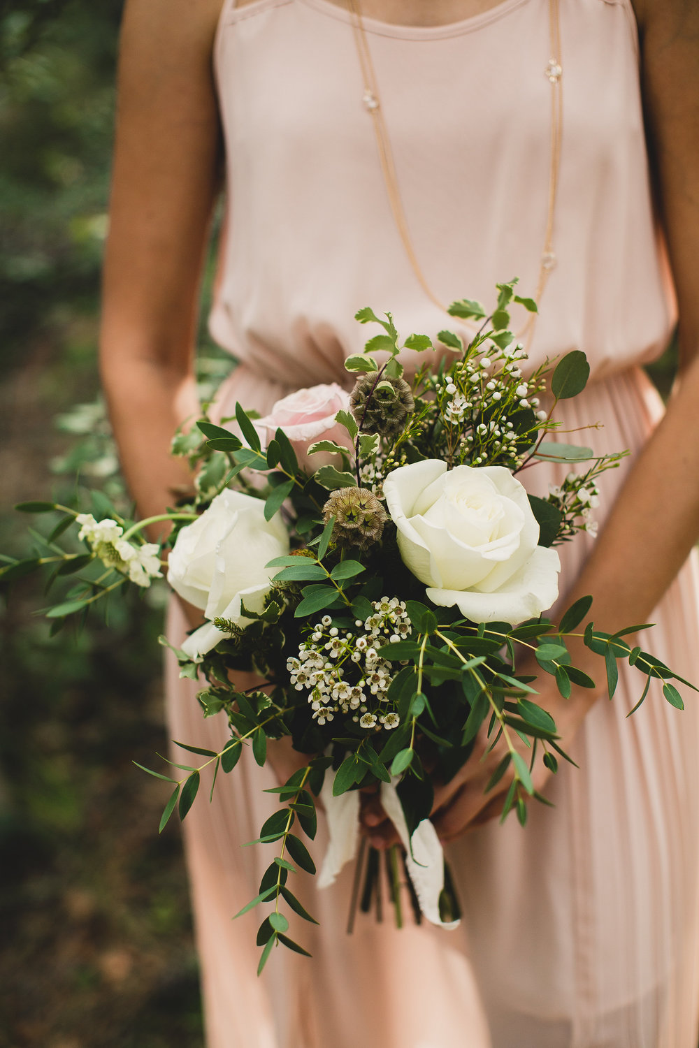 Boy Scout Camp Wedding - Bridesmaid Bouquet