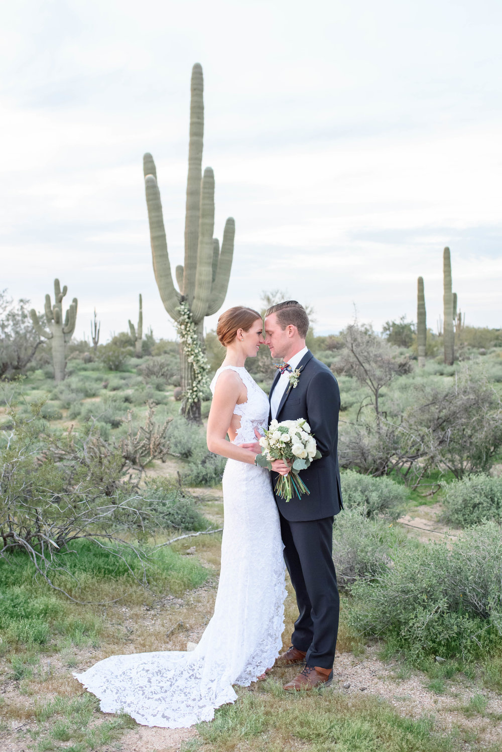 Colorful Desert Wedding