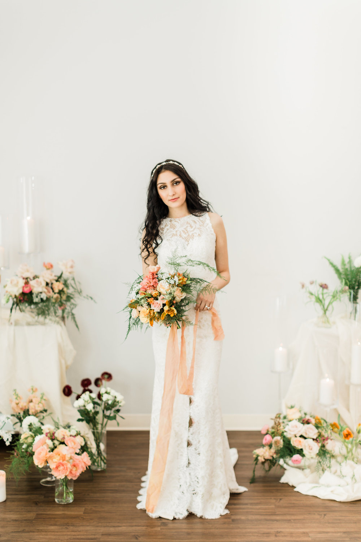 Wedding Dress Shopping - Bella Lily Bridal Inspiration Shoot