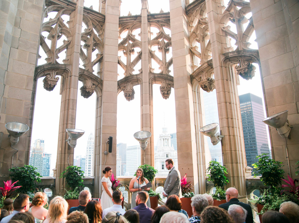 Chicago Wedding at Tribune Tower