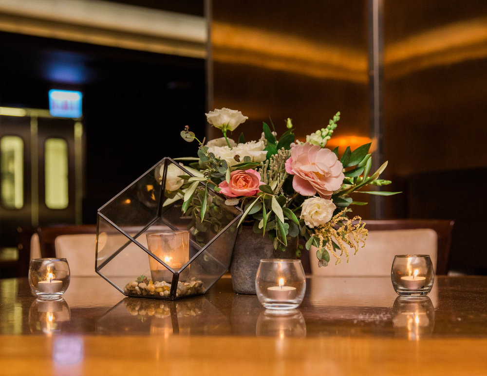 Chicago Wedding - Centerpiece