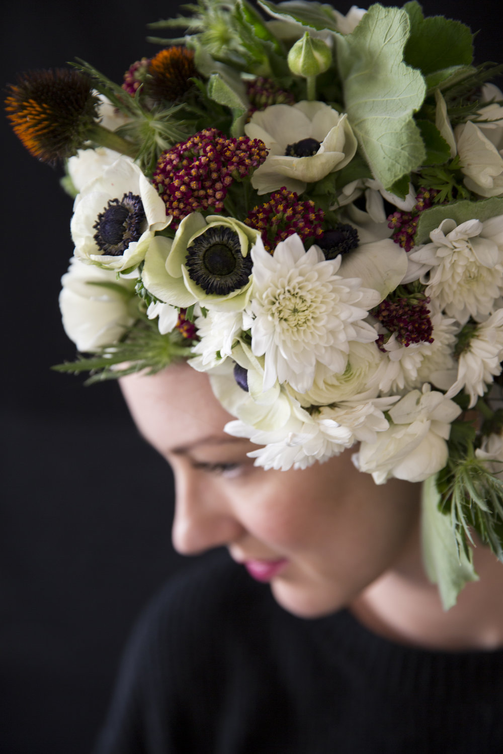 Wearable Floral Designs - Inspiration Shoot