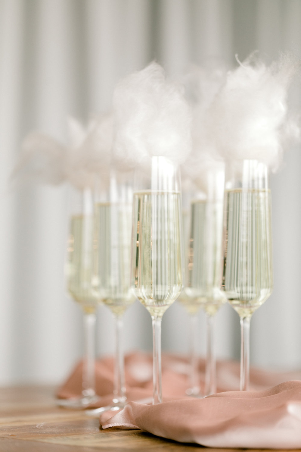Blush and White Cherry Blossom Inspired Wedding - Cotton Candy Champagne