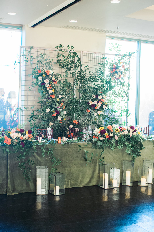 Troon North Desert Wedding - Head Table