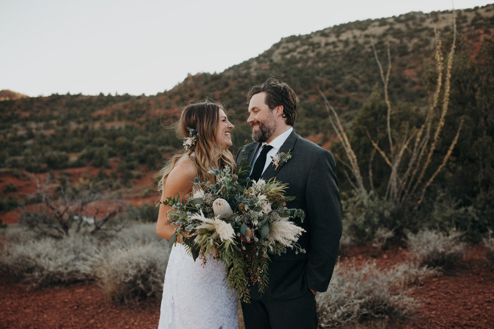 Sedona Wedding - Desert Inspired Bridal Bouquet