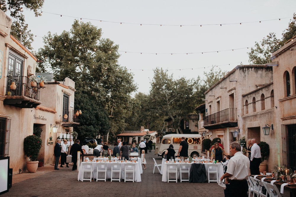 Sedona Wedding - Tlaquepaque Reception