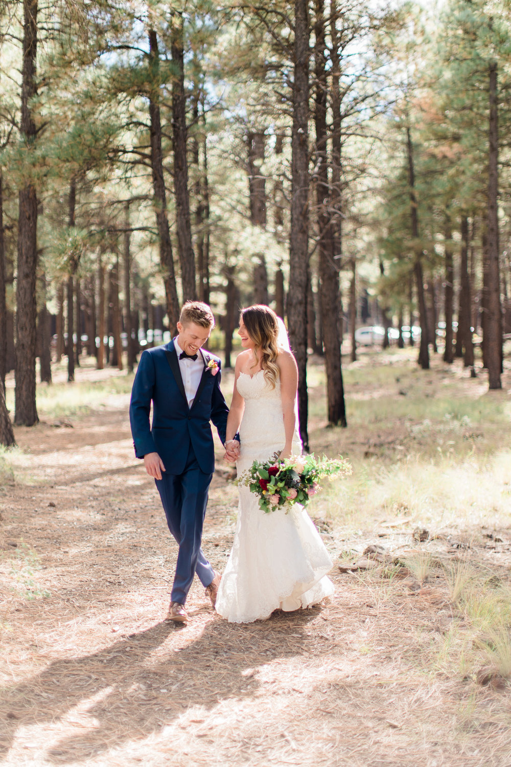 Flagstaff Forest Wedding