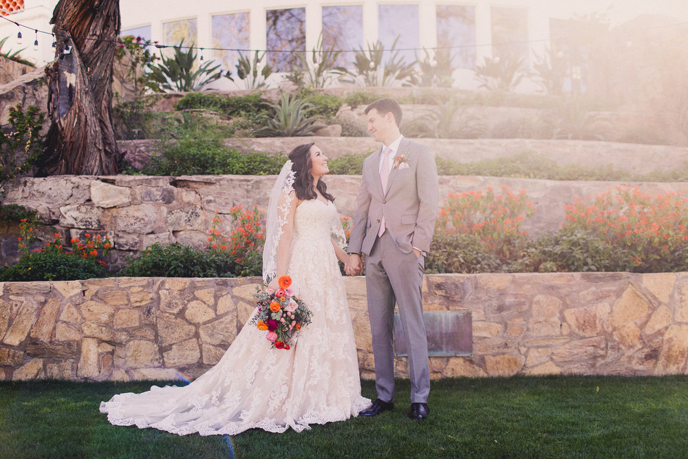 Colorful Springtime Wedding at Wrigley Mansion