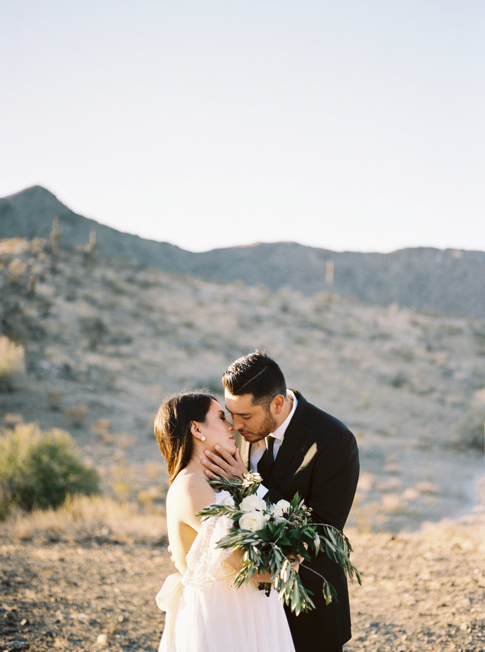 Fine Art Desert Elopement