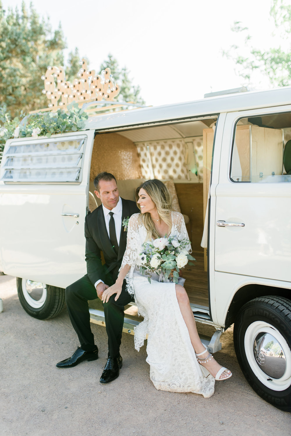 Boho Sedona Wedding - Photo Booth Bus