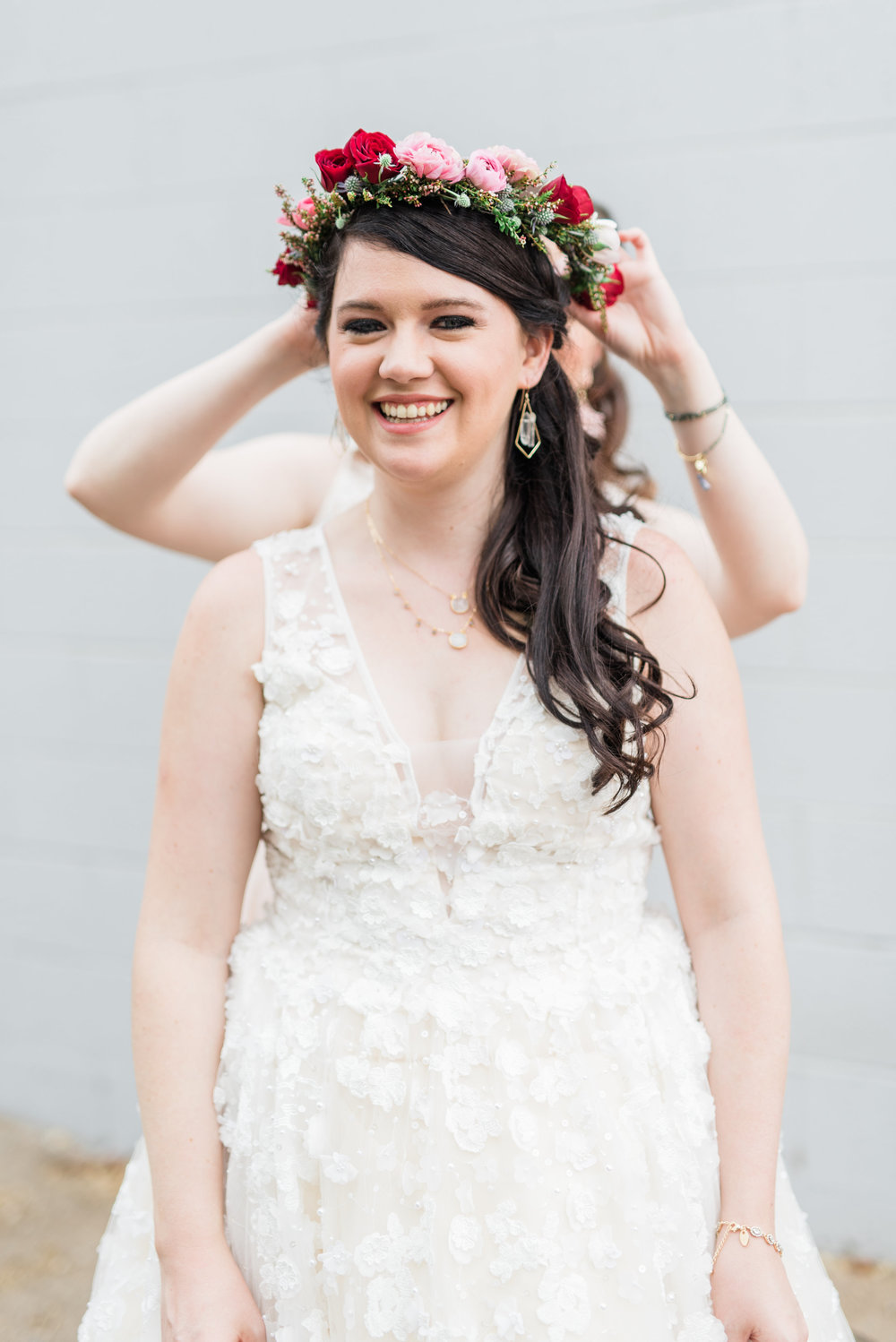 Book Inspired Wedding in Phoenix - Flower Crown