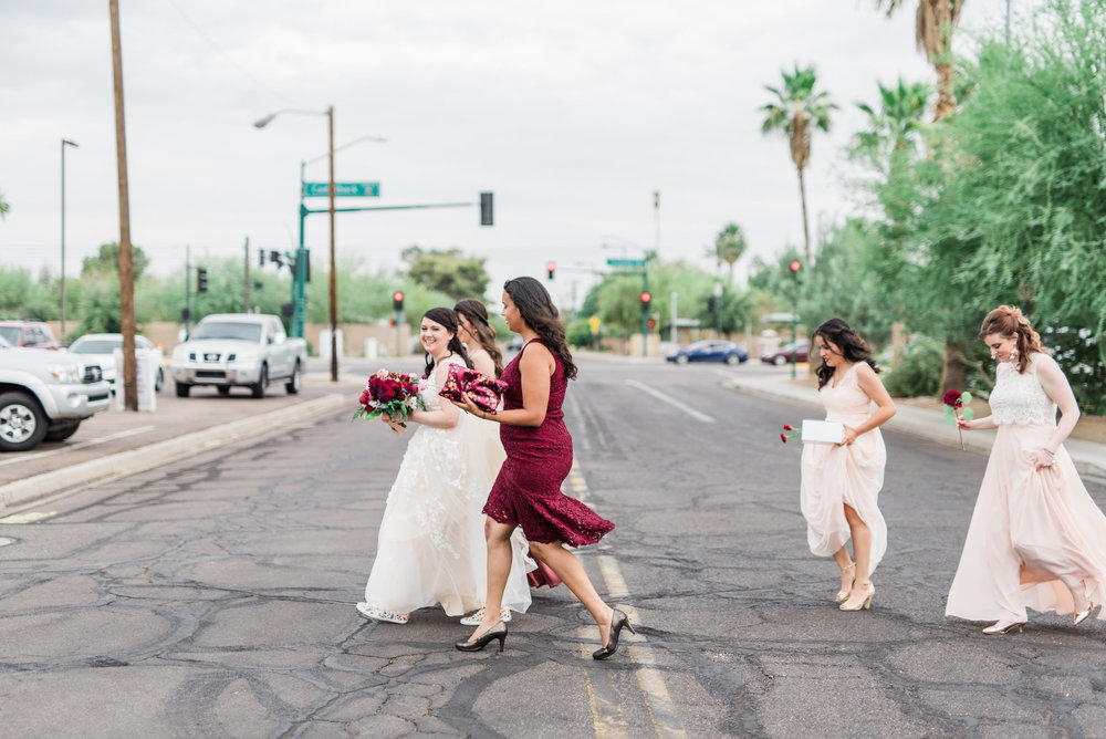 Book Inspired Wedding in Phoenix - Bridal Party