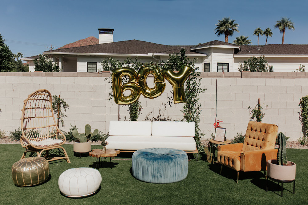 Backyard Baby Shower Inspiration