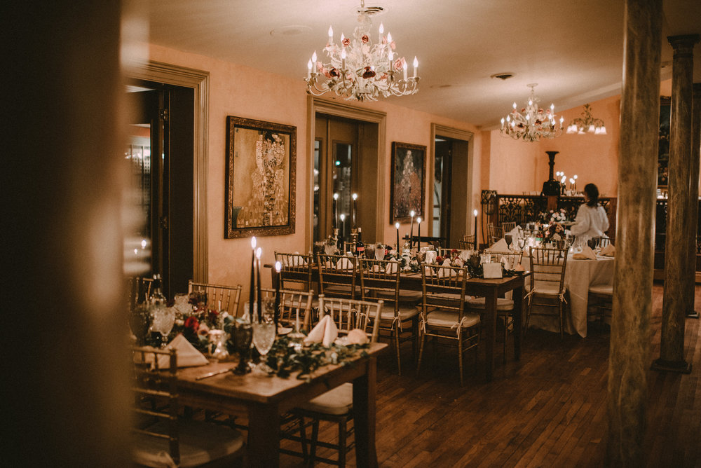 Harry Potter Themed Wedding - Reception Space