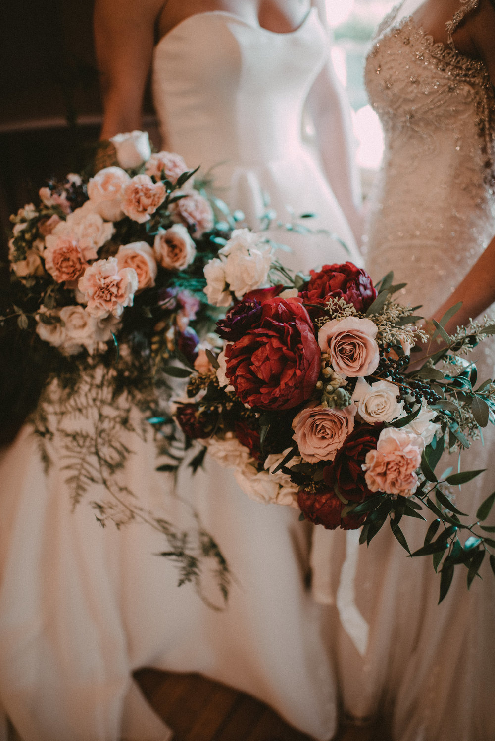 Same Sex Wedding in Upstate New York - Bridal Bouquets