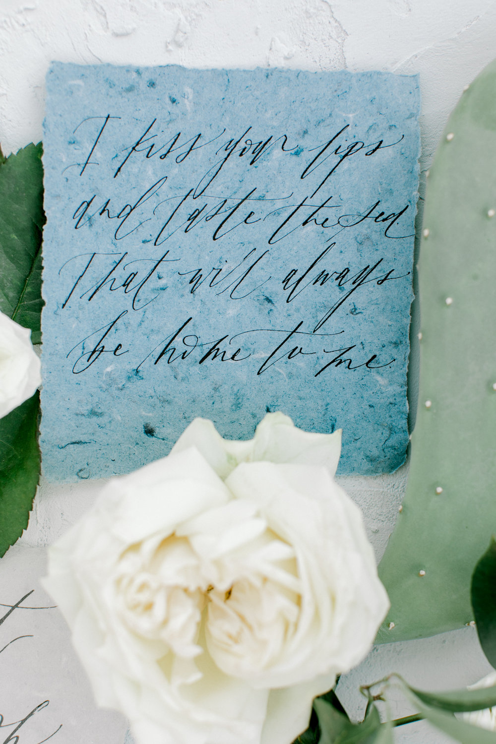 Dusty blue and ivory wedding inspiration