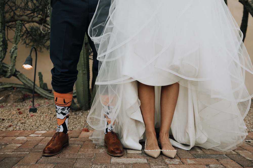Bride and Groom - Shoe and sock inspo - Louboutins
