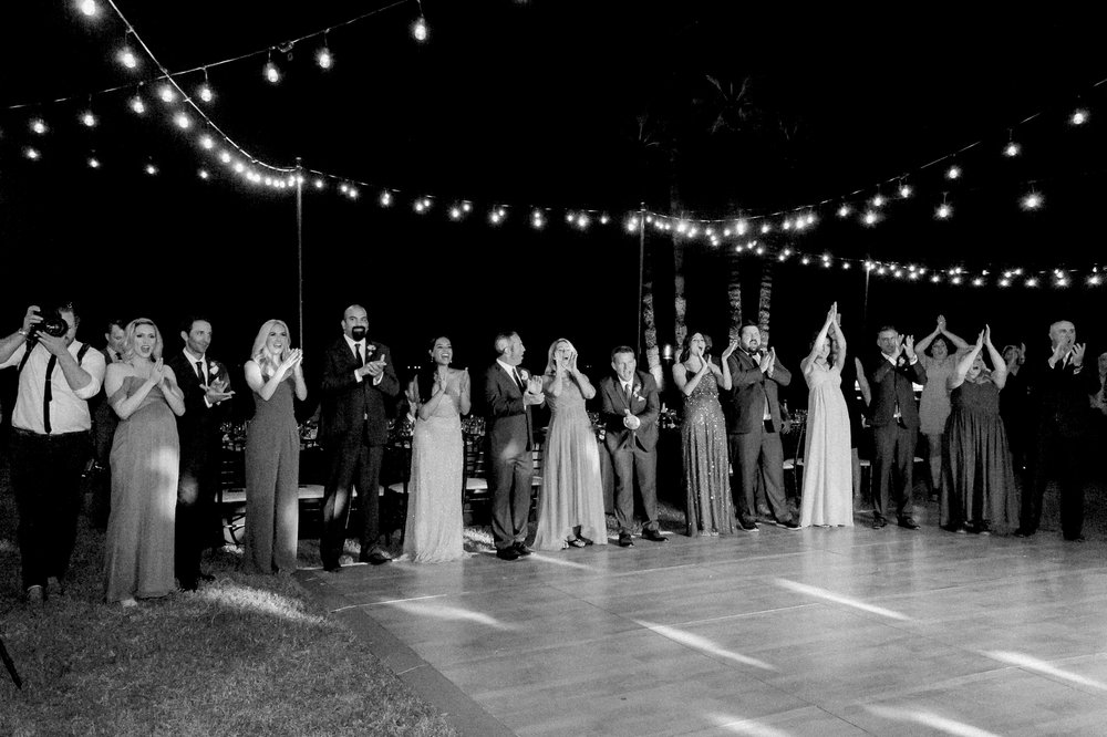 Private Estate Wedding in Phoenix - Reception Dance Floor