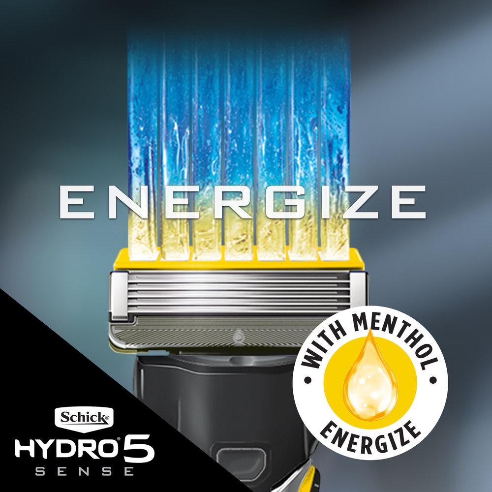 Energize Formula - Uniquely designed Energize Gel, with Menthol, wakes-up tired looking skin.