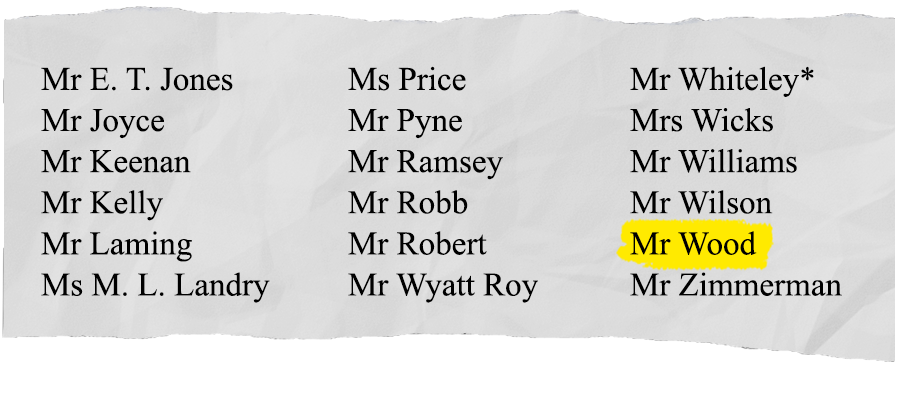 Jason Wood voting against motion to support banking Royal Commission.  SOURCE: Hansard