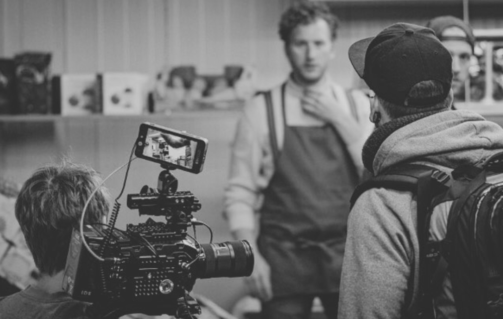 VIDEOPRODUCTION - We take every necessary step for you to come to an overall satisfying end. We take the camera and film, we start PremierePro to cut your video and take care of colorgrading, music and sound and even VFX and animation if you want.
