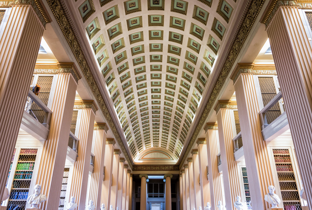 The Playfair library at the Old College, University of Edinburgh