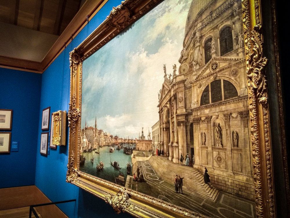 The Canaletto Exhibition, Edinburgh, August 2018