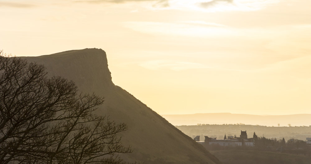 Salisbury Craggs, Edinburgh, December 2018