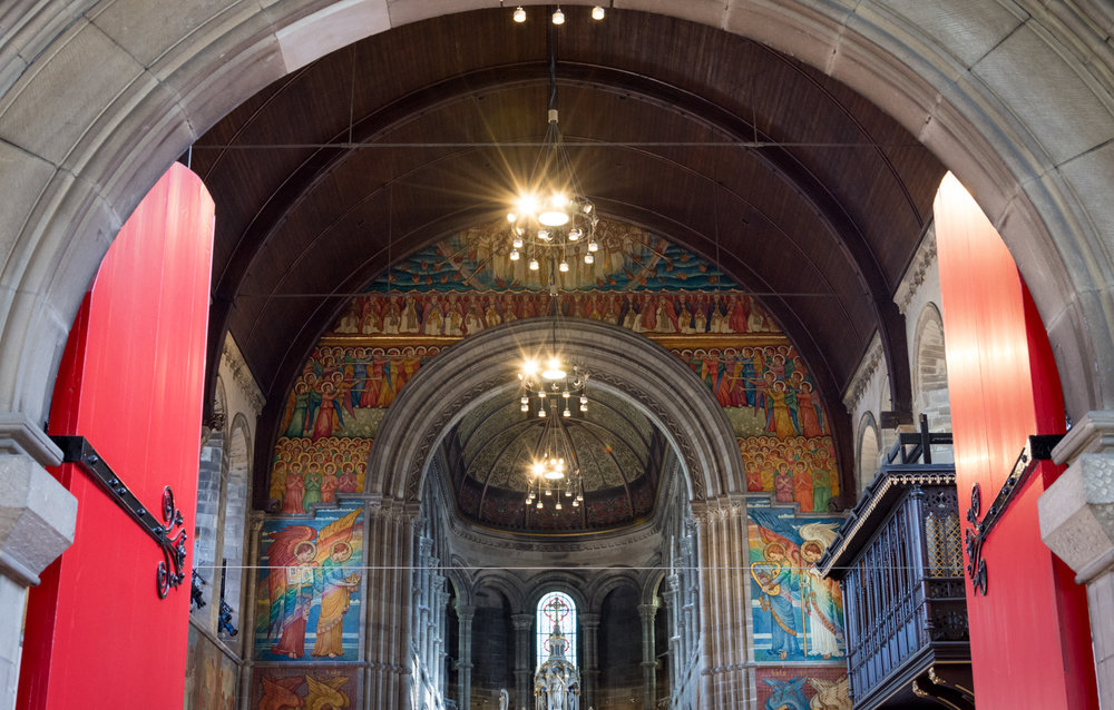Mansfield Traquair Centre, Edinburgh, September 2018