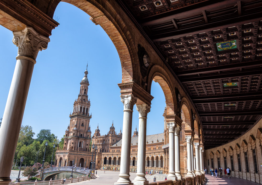 Plaza de Espana, Seville, September 2018