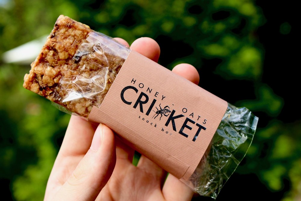 - Healthy, ecological and most of all delicious snack from homegrown house crickets.