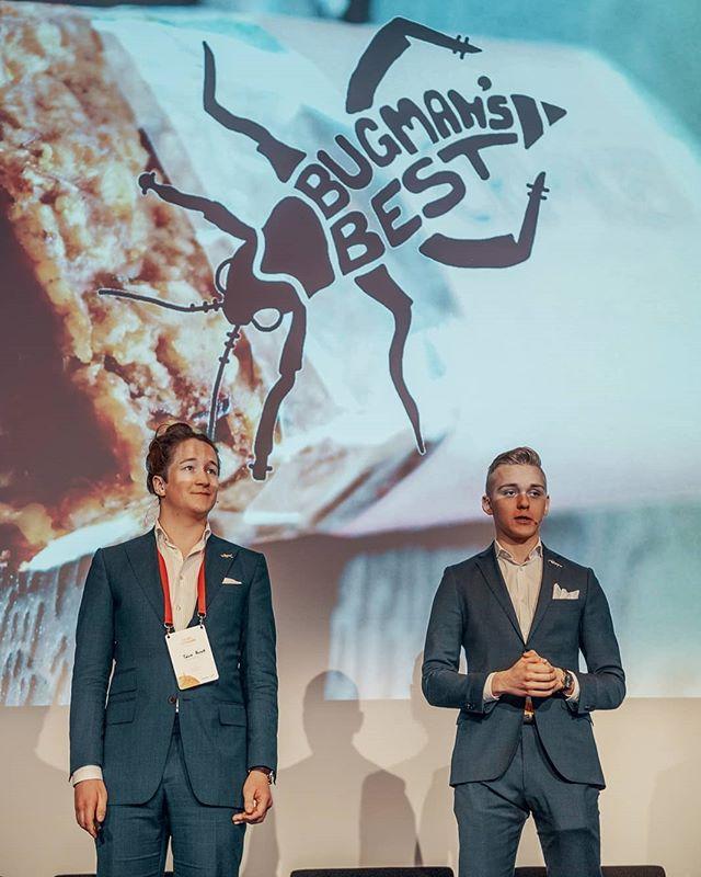 Bugman's Best luennoimassa Pääomasijoittajien kevätpäivillä. Kiitos mahdollisuudesta @fvcafi. Kaltaisemme pienet kasvuyritykset tarvitsevat tämänkaltaisia rohkeita ihmisiä sijoittamaan alkuvaiheessa! Vink vink 😉  Bugman's Best lecturing at the spring event of finnish Venture Capitalists. Thanks for the opportunity @fvcafi. Small growing businesses like ourselves need brave investors like this in the beginning!  #bugmansbest #entrepreneuership #insectfood #food #kevätseminaari2019 #fvca