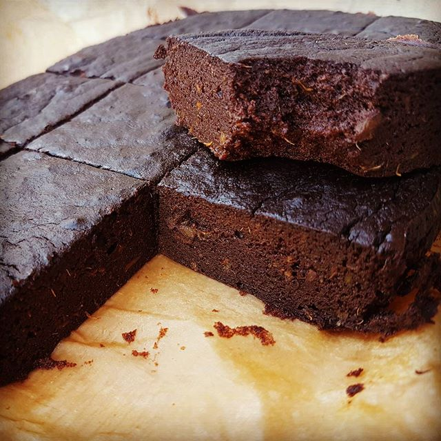 You need to try our basically perfect #sweetpotato #brownies.