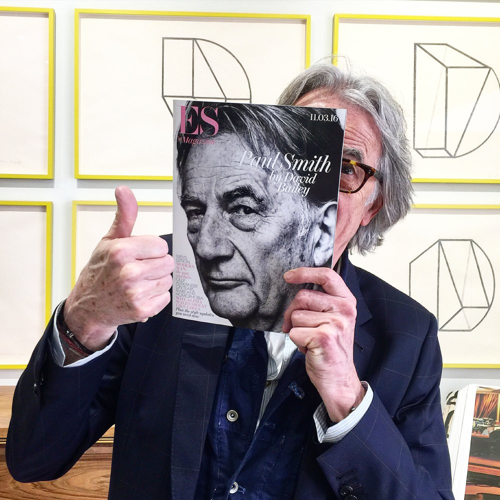 Paul Smith, Pioneer of modern retail since the 70s - Photo by Tom at Paul Smith's Albemarle Street