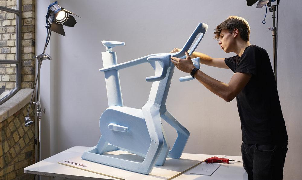 Wattbike Atom | Hand crafted form study