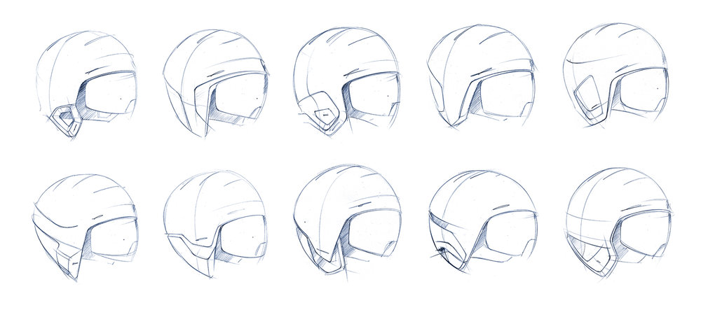 Link Pro | Initial sketches