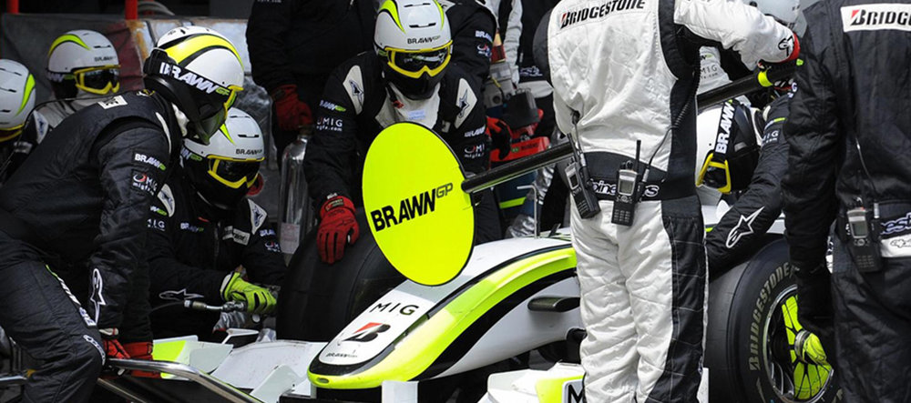 Ruroc RG1 | The RG1 used by F1 pit crews | Brawn