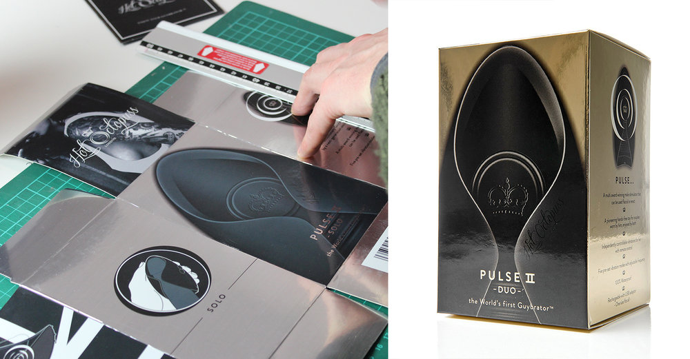 Pulse | Packaging design
