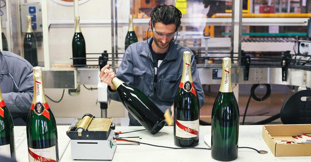 Mumm Champagne | Manufacturing