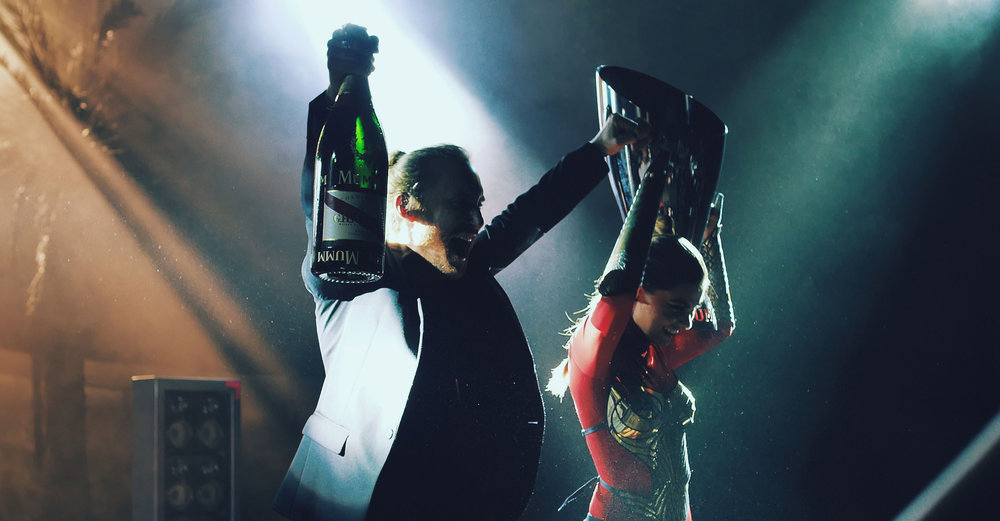 Mumm Champagne | Launched with David Guetta