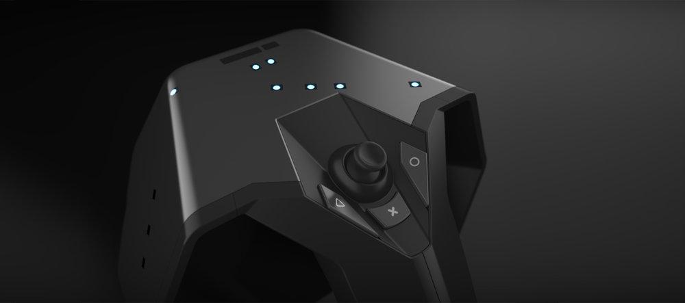 Vicon - Apex - visualisation - CGI - handle - augmented reality hand held control
