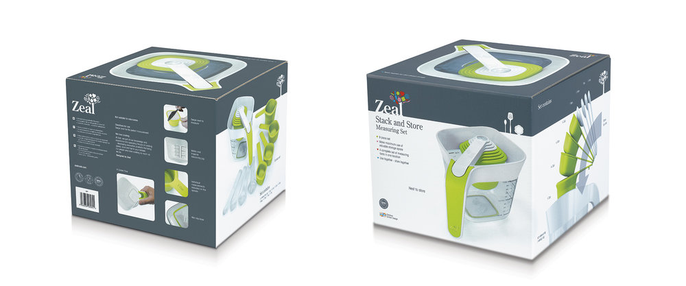 Zeal Measuring | Product packaging