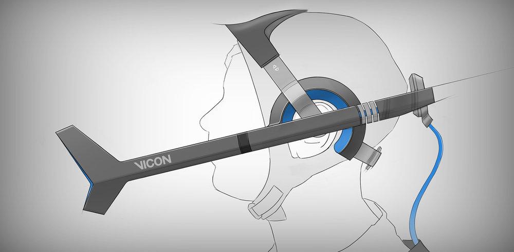 Vicon Cara | Initial concept sketch