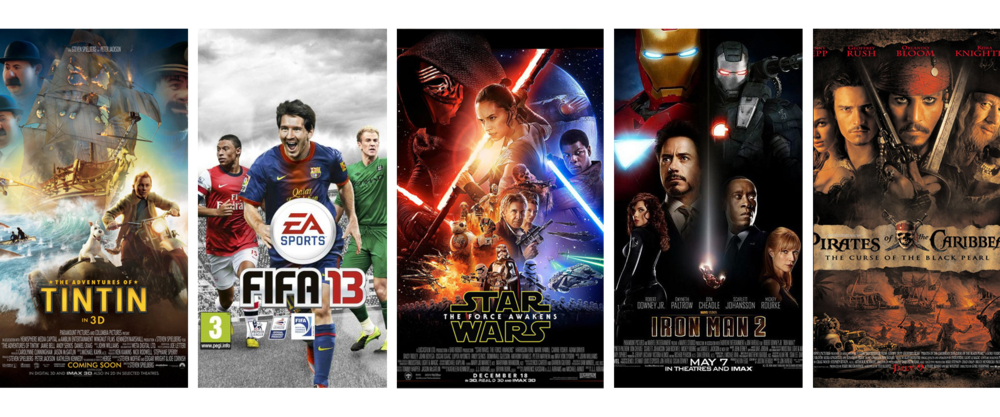 urventa - vicon - cara - tintin - fifa 13 - star wars the force awakens - iron man 2 - pirates of the caribbean