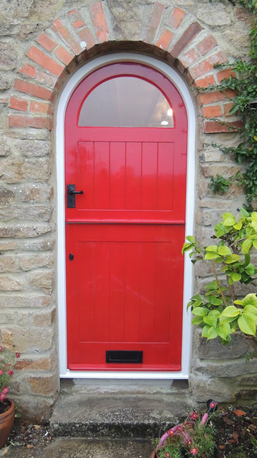 Bespoke wooden door joiners in Falmouth